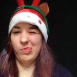 Selfie mit weihnachtlichem Dreifachkinn